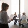 Beeld Freelancers NRC voeren actie voor omvang en verdeling flexwerk