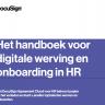 Beeld Het handboek voor digitale werving en onboarding in HR
