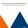 Beeld Wat learning Agility voor HR kan betekenen