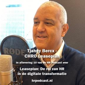 Beeld De HR Podcast – Afl. 10 Leaseplan: De rol van HR in de digitale transformatie