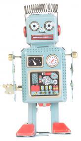 Beeld Werknemer niet bang dat robot baan overneemt