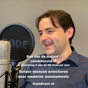 Beeld De HR Podcast – Afl. 9 Betere mensen selecteren door moderne assessments