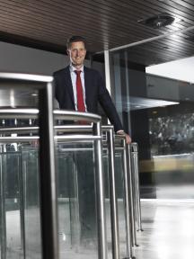 Beeld Aart Slagt, KLM: 'HR was een andere tak van sport'