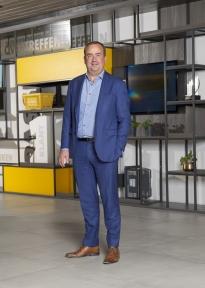Beeld Alrik Boonstra (Jumbo): 'De filosofie van de frietzak, die zit hier ook in HR'