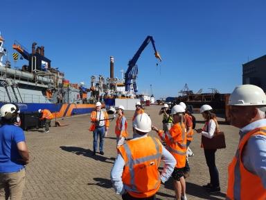 Beeld Arbo Unie en Port Health Centre vaccineren op grote schaal zeevarenden