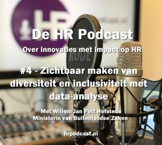 Beeld De HR Podcast – Afl. 4 Zichtbaar maken van diversiteit en inclusiviteit door data-analyse