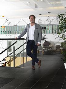 Beeld Maarten van Beek, Directeur HR, ING Bank Nederland:  'We kunnen onze markt ver vooruit zijn'