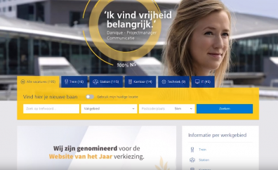 Beeld NS wint Digitaal-Werven Award