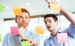 Beeld 10 uitgangspunten bij Agile werken