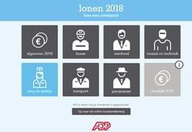 Beeld Lonen 2018: meeste werknemers zien nettoloon stijgen