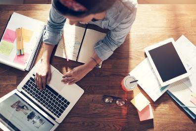 Beeld Stichting van de Arbeid: werk thuis, neem veiligheidsmaatregelen in acht