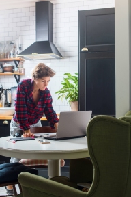 Beeld Inrichting thuiswerkplek: afspraken blijven achter