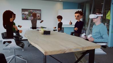 Beeld Terug naar kantoor: bij Triple doen ze dat in Virtual Reality