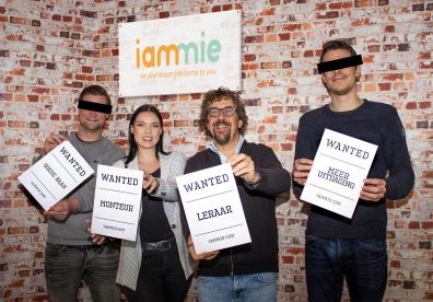 Beeld Werkgevers solliciteren op droombaan werknemers