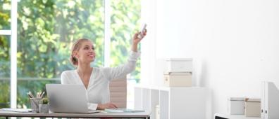 Beeld Vergeet de ventilatie niet op de 1,5 meter-werkplek