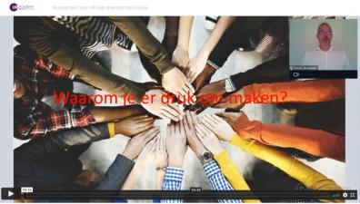 Beeld Webinaropname: De essentials voor HR over diversiteit en inclusie