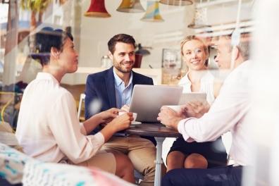 Beeld Regelmatig van werkplek wisselen vergroot werkplezier