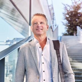 Beeld Wouter van Essenberg nieuwe directeur HR bij Sweco