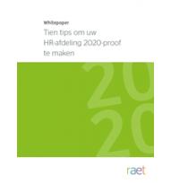 Beeld Tien tips om uw HR-afdeling 2020-proof te maken