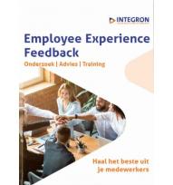 Beeld Opvraagbare brochure: Employee Experience Feedback van Integron