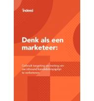 Beeld Denk als een marketeer: target en meet voor een betere inbound pijplijn met kandidaten