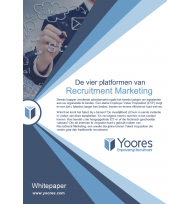 Beeld De vier platformen van Recruitment Marketing